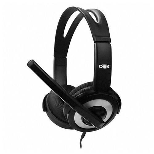 Fone De Ouvido Usb Headset C/ Microfone Df-55 Control Volume