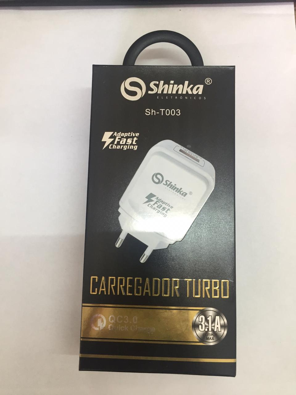 FONTE 1 USB TURBO SHINKA 3.1A SH-T003