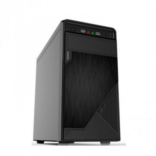GABINETE 1 BAIA COMPUSONIC P-1B COM FONTE 200w USB E AUDIO FRONTAL PRETO 200R