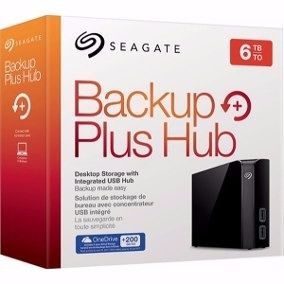 HD EXT USB 3.0 6TB SEAGATE BACKUP PLUS HUB 3.5 STEL6000100 BOX