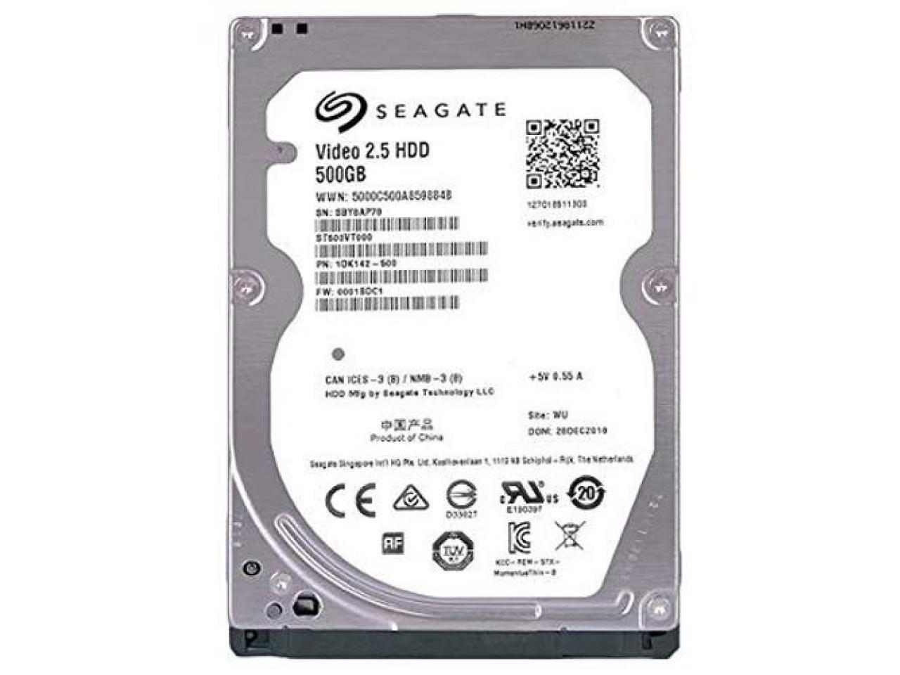 """Hd Notebook Seagate Sata 2,5"""" 500gb 5400 Rpm"""