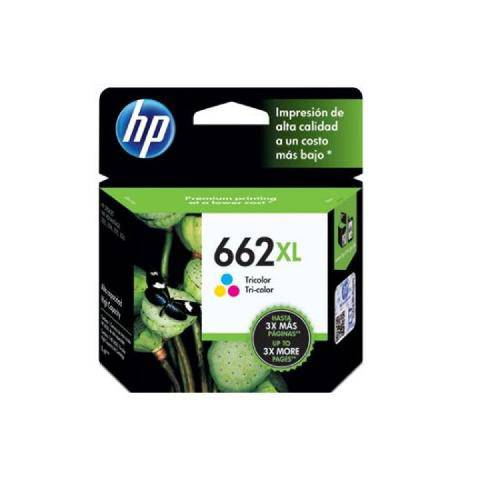 HP CZ106AB 662XL CARTUCHO DE TINTA COLOR (8 ml)