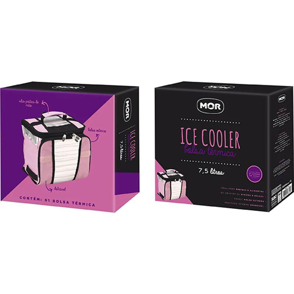 ICE COOLER 7,5 L - Bolsa Térmica ROSA MOR 3629