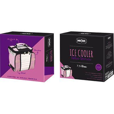 ICE COOLER 7,5 L - ROSA MOR 3629