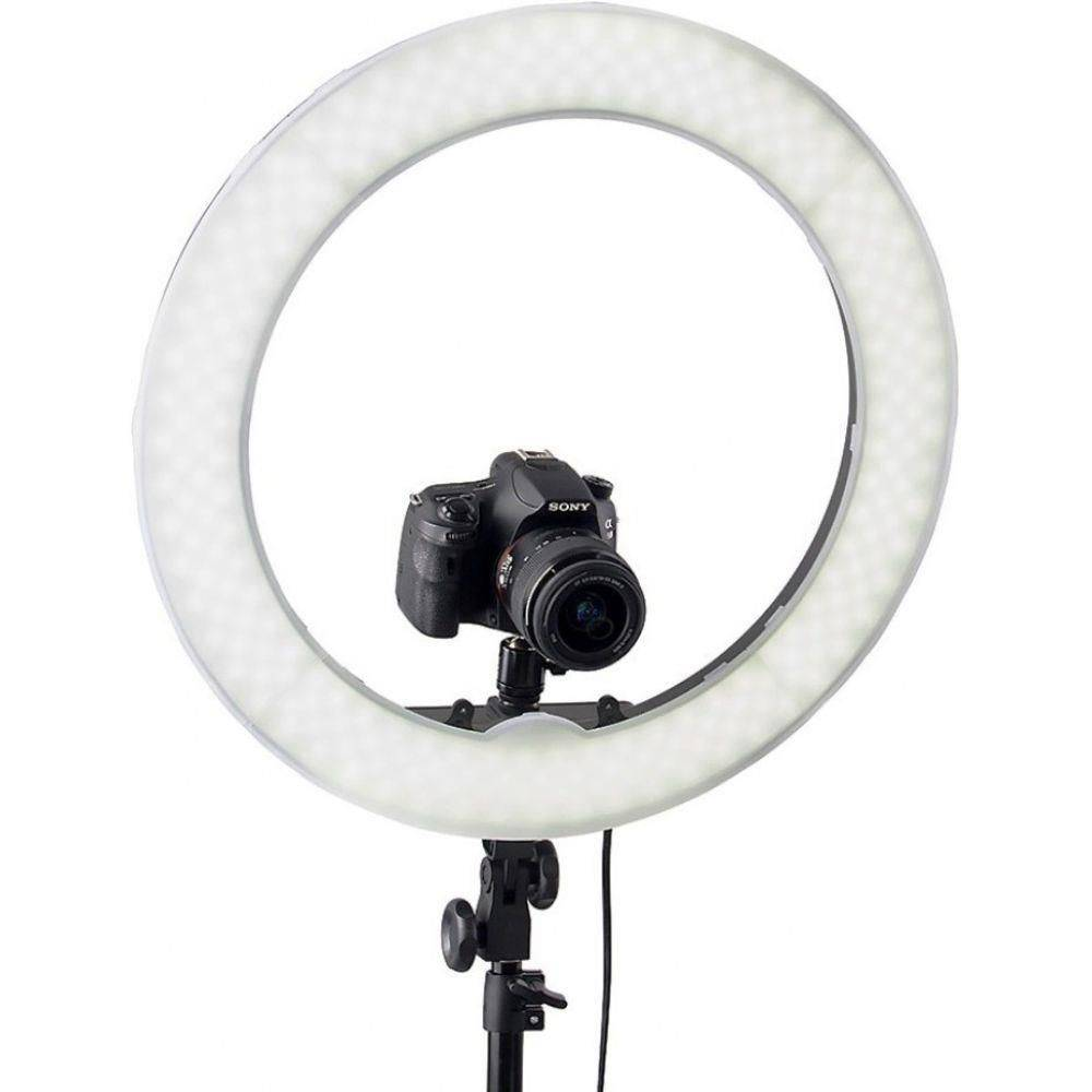 Iluminador Led Ring Light Rl-18 Circular Foto Video JR-RL-18