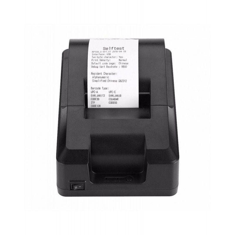 IMPRESSORA TERMICA DE CUPOM 58MM USB E ETHERNET ITE-T58K