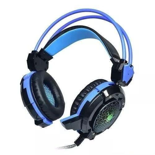 INFOKIT GH-X30 HEADFONE GAME COM MICROFONE LUZ LED COLORIDO CABO REFORCADA REVESTIDO SILICONE