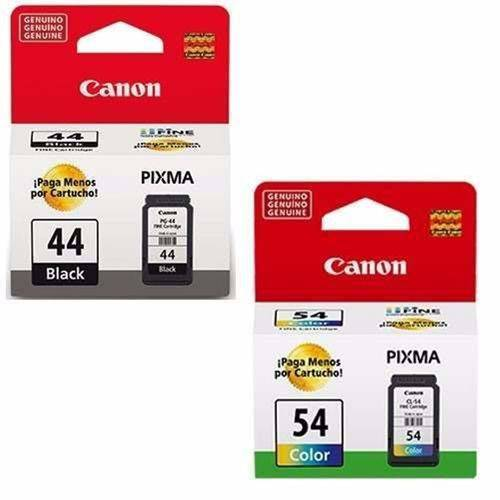 Kit Cartuchos Originais Canon Pg-44 Cl-54 E481 E401 E461
