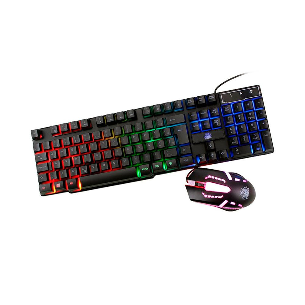 Kit Gamer Nemesis Start - Teclado + Mouse - 015-0052