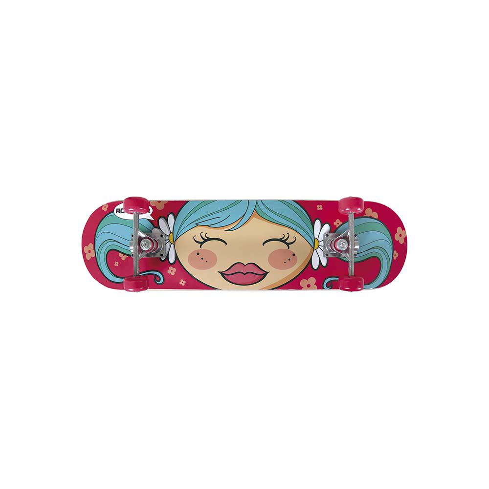 Kit Skate Infantil Menina 79cmx20cm MENINA MOR 40600202