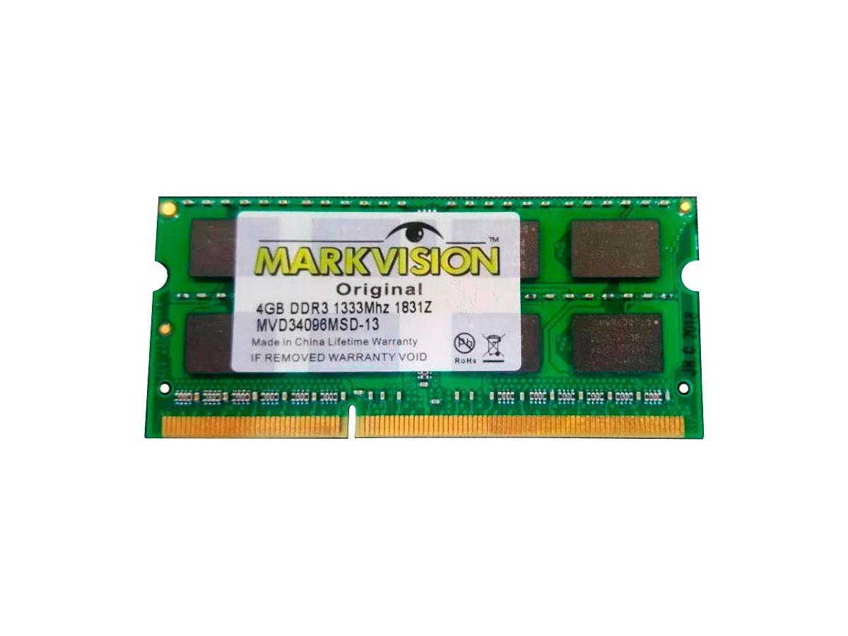 MEMORIA notebook 4GB/1333 MARKVISION