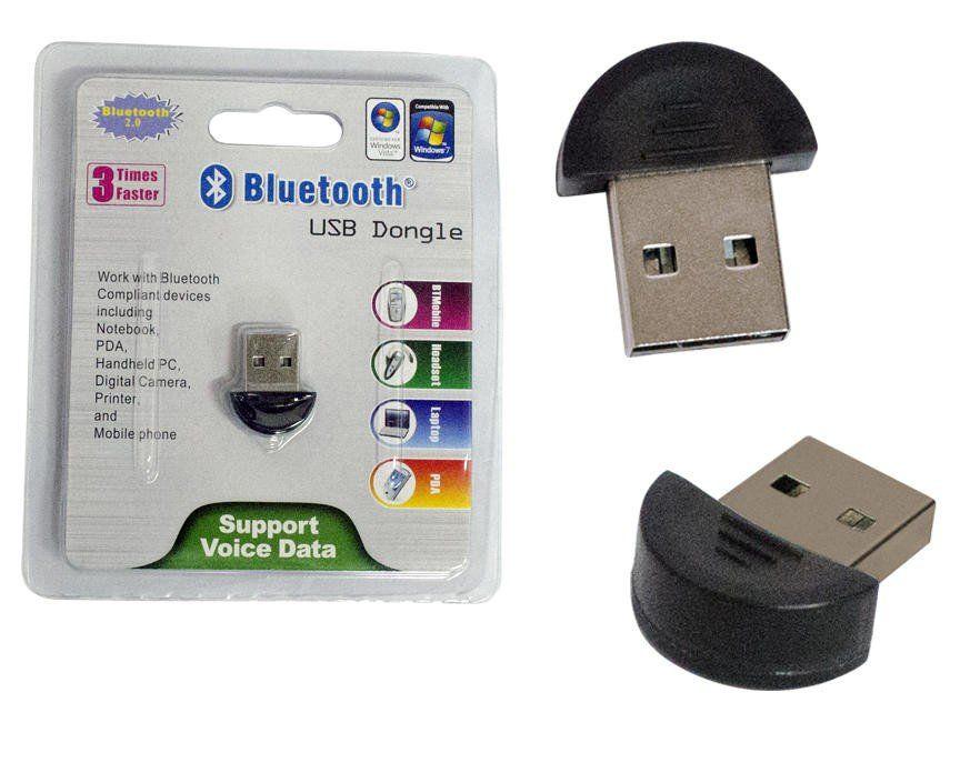 Micro Adaptador Transmissor Bluetooth USB 2.0