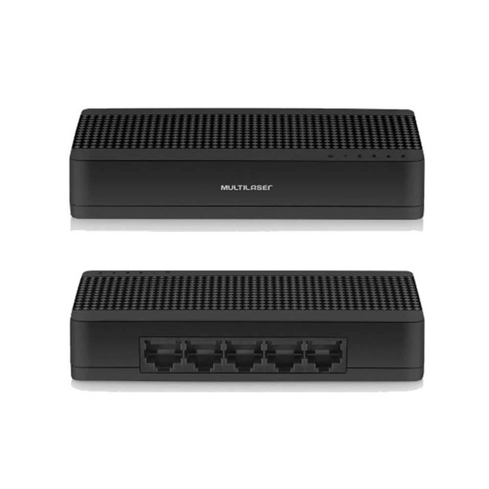 Mini Switch 5 Portas Multilaser Soho - Re305