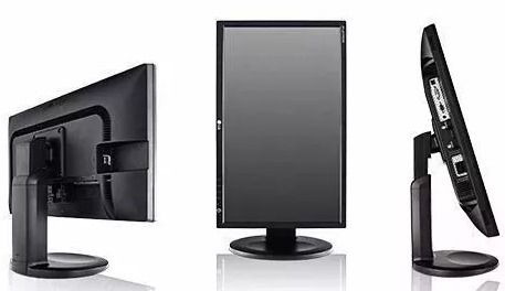 "MONITOR 20"" WIDESCREEN LED HP V206HZ VGA DVI-D BASE ARTICULADA PIVOTANTE (semi novo)"