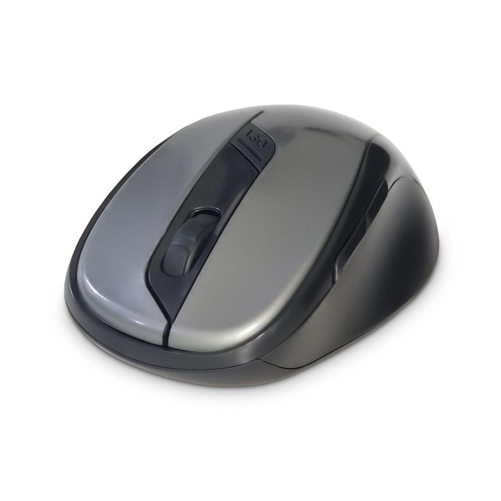 MOUSE USB SEM FIO 2.4GHZ LTM-308 CINZA DEX (LTM-308 CINZA)