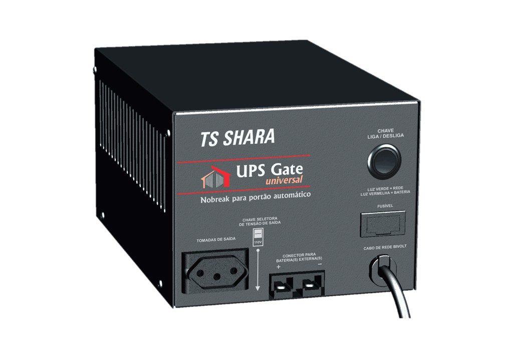 Nobreak Para Portao Automatico UPS GATE 1200VA (S/BATERIA) ENG 12V BIVOLT/BIVOLT 4398 TS SHARA
