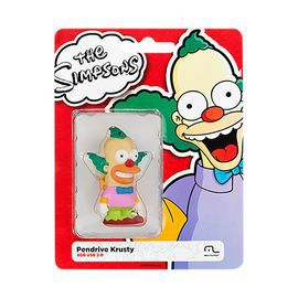 PEN DRIVE 8 GB THE SIMPSONS KRUSTY USB 2.0 PD074 MULTILASER