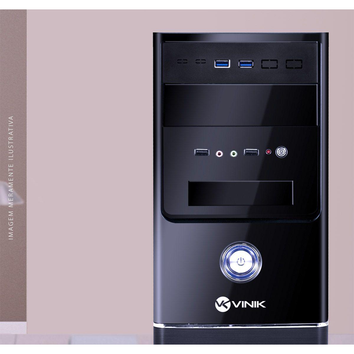 """PLACA USB PARA BAIA 5.25"""" COM 2 USB 3.0 + CABOS - P2U-525 vinik"""