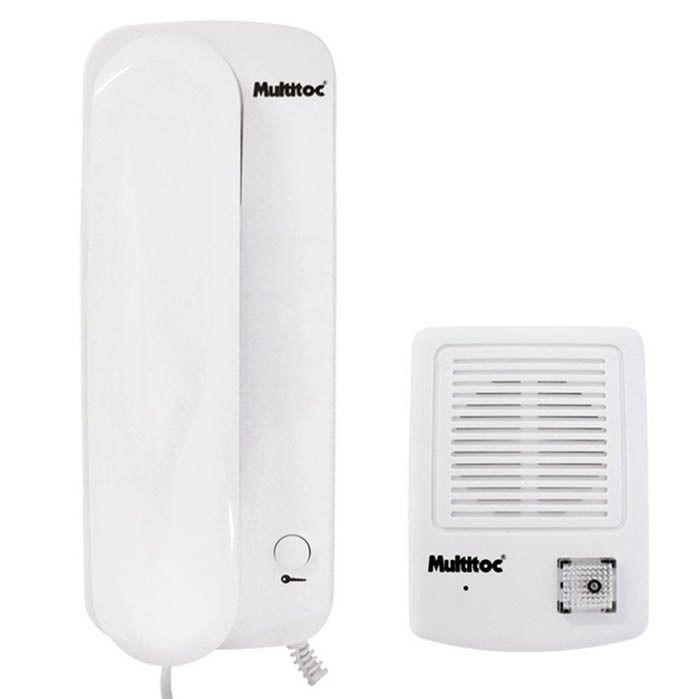 Porteiro Eletrônico Multitoc Segurança Residencial Interfone