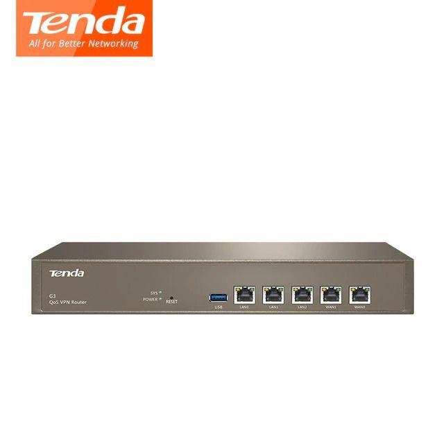 ROTEADOR VPN QoS TENDA G3 5 PORTAS (GERENCIA 8 PONTOS DE ACESSO) BOX I