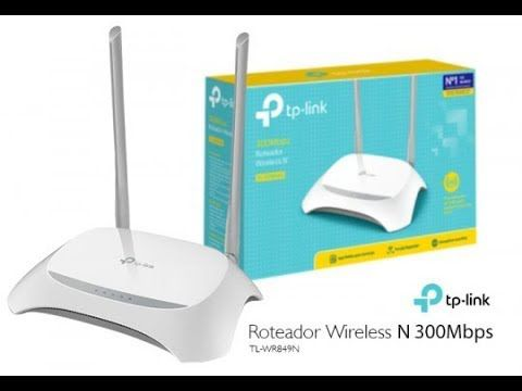 ROTEADOR WIRELESS N 300 Mbps TL-WR849N (TL-WR840N) TP-LINK