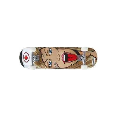 Skate Semi-Profissional 79cm x 20cm Enfermeira MOR 40600241