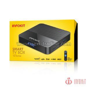SMART TV BOX DUALBAND 2.4 GHZ E 5.8WIFI ANDROID GB+16GB INFOKIT TVB-926D