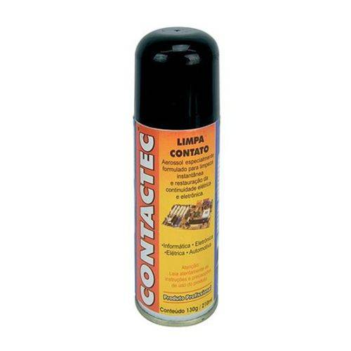 Spray Contactec Limpa Contato 130GR Implastec 210ML