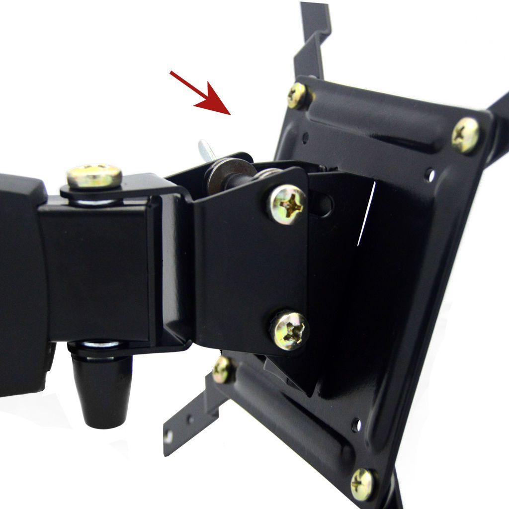 Suporte ARTICULADO para TV LED, LCD, Plasma, 3D e Smart TV de 10? a 37? ? Brasforma SBRP230