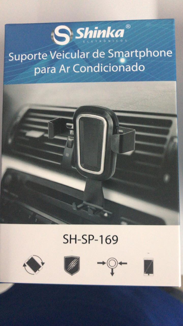 SUPORTE VEICULAR PARA CELULAR SH-SP169 AR CONDICIONADO gravidade