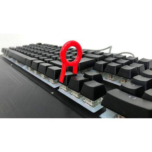 Teclado Mecânico Gamer Led Usb Abnt2 Blue Iluminado Ltk-027