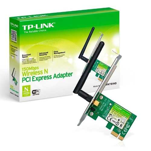 TP-Link Placa de Rede Wireless 150Mbps PCI Express TL-WN781ND