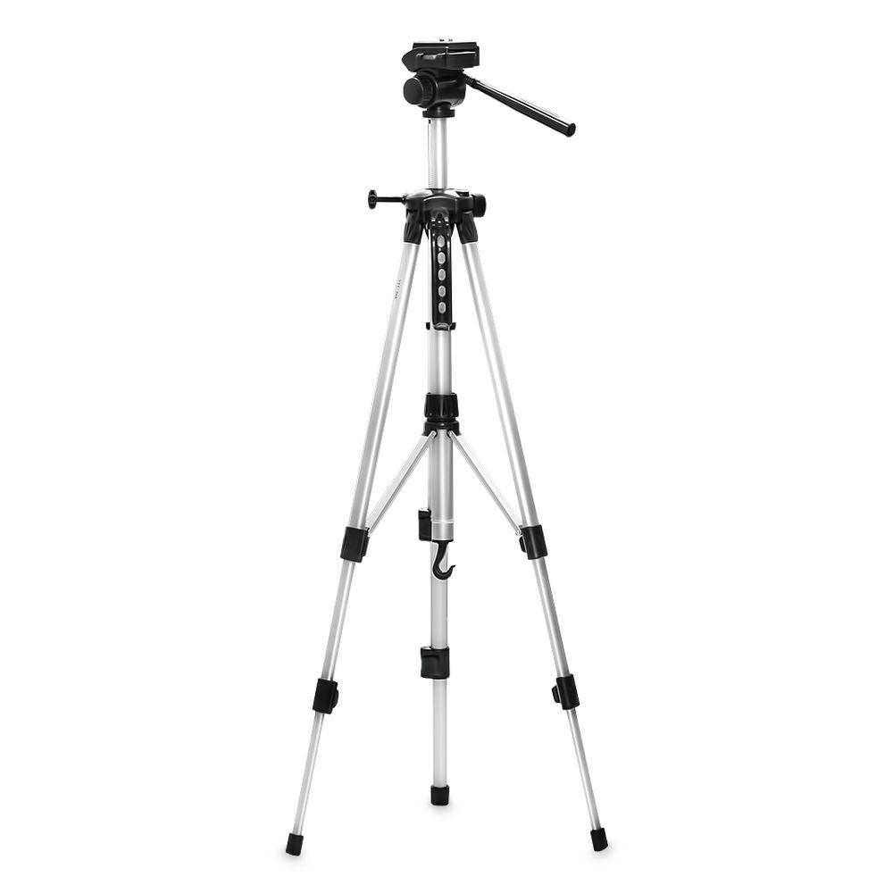 Tripé Alumínio  Profissional Universal 1,45m Cam Film W-350