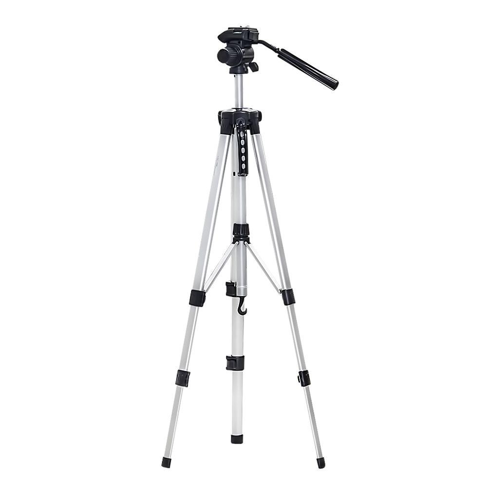 Tripé Alumínio  Profissional Universal 1,60m Cam Film W-360