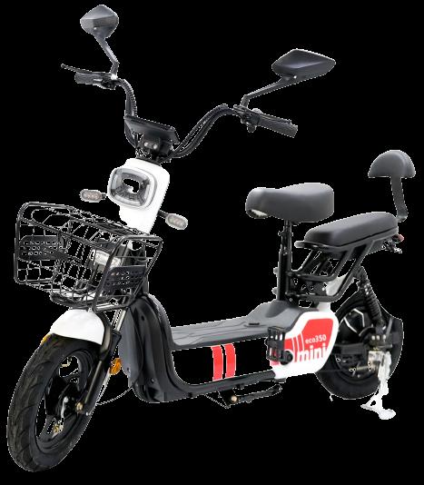 Bicicleta Elétrica Eco350 Mini LÍTIO 36ah