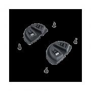 Acessorio para Sapatilha Fizik - Placa antiderrapante calcanhar MTB13 Preta