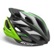 Capacete RudyProject WindMax Graphite Lime
