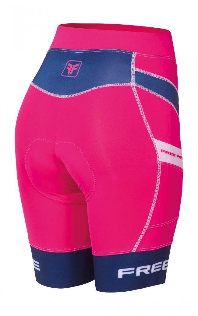 Bermuda de ciclismo Free Force Stage Feminina.