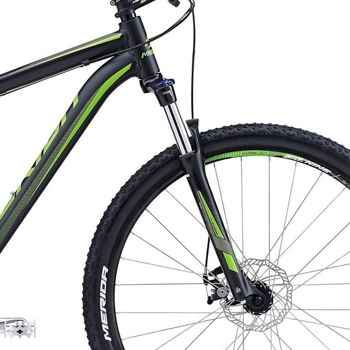 BICICLETA MOUNTAINBIKE MERIDA BIG NINE 20MD