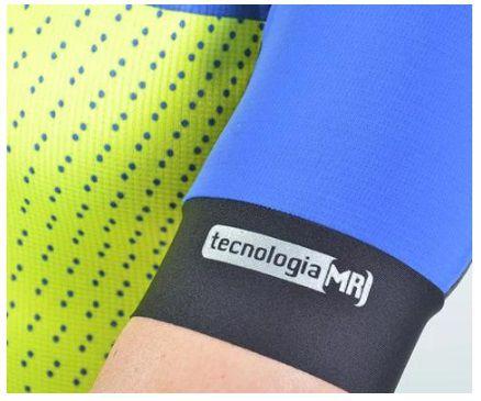 Camisa de ciclismo Feminina Mauro Ribeiro Tech MC Azul