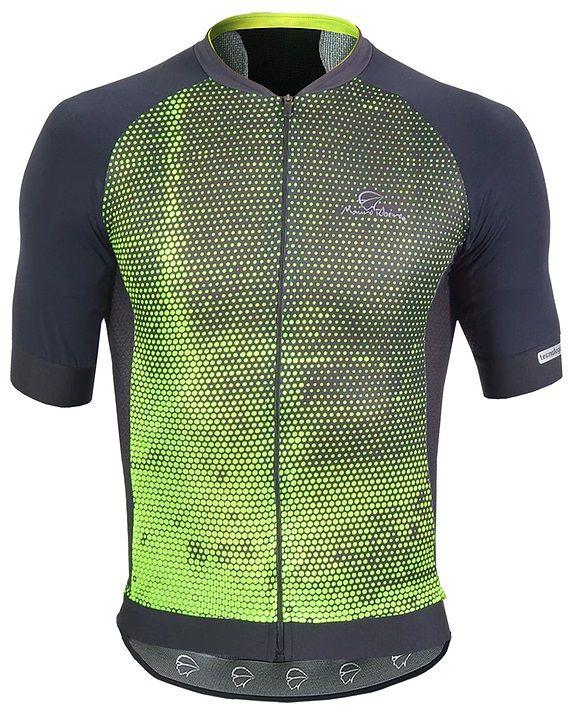 Camisa de ciclismo Mauro Ribeiro Masculino Optic+