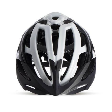 Capacete Ciclismo Arbok Escalera Preto/Branco Brilhante TAM. 58-62