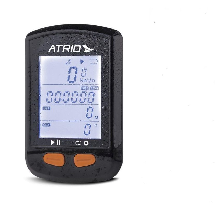 GPS ATRIO STEEL BLUETOOTH COM SENSOR DE CADÊNCIA ATRIO - BI132