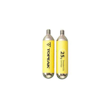 Tubo Co2 Comprimido Topeak 25g - 2 Unidades