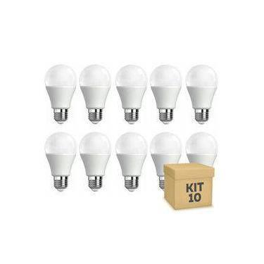 50 Lampadas Led Bulbo - AUTODIMERIZÁVEL 12W Luz branca Neutra 4500k