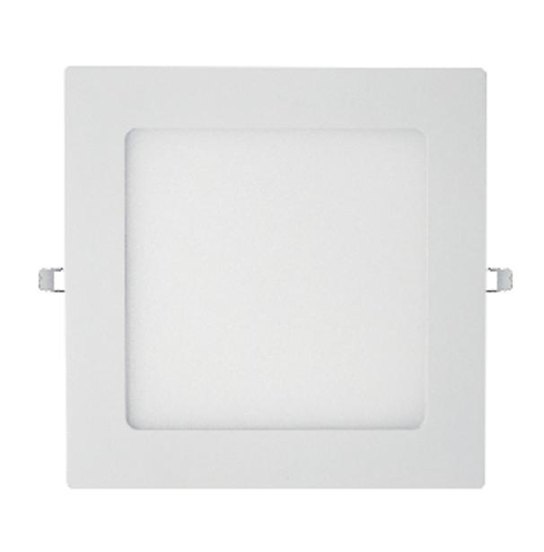 Painel Plafon 18w Quadrado de embutir Branco Bivolt