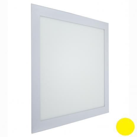Plafon Led 24w Quadrado Embutir 30x30 -3000k - Branca Quente