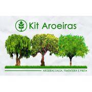 Kit Aroeiras - 30 Sementes - Mundo das Sementes