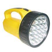 Lanterna Holofote Com 19 Super Leds Dp1706 Bivolt Recarregável