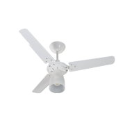Ventilador Tron 1 lampada marbela branco